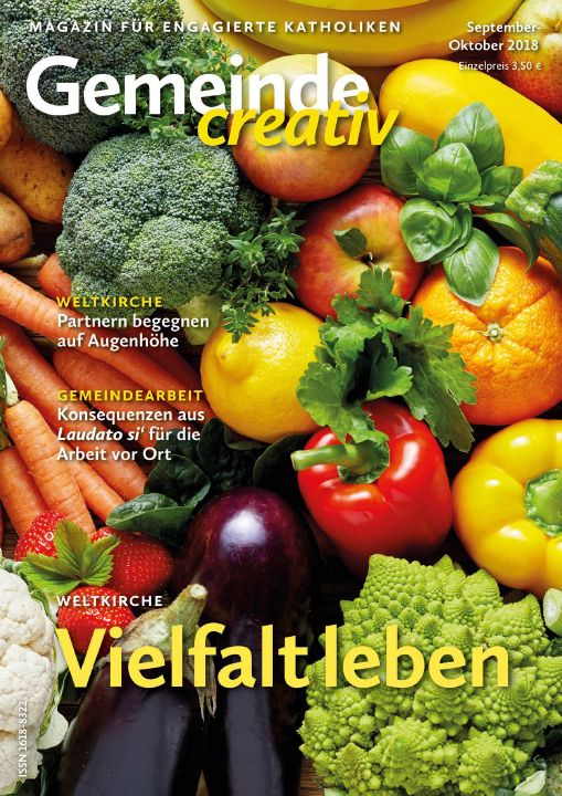 """Weltkirche ist Schwerpunkt der aktuellen Ausgabe von """"Gemeinde creativ""""."""