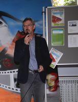 Wolfgang Zecher, Umweltmanagementbeauftragter des Kilianeums-Haus der Jugend, gab Informationen zum nachhaltigen Fischkonsum.