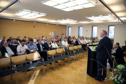 Zum letzten Mal gab Karl-Peter Büttner als Diözesanratsvorsitzender seinen