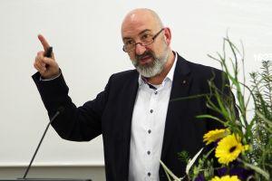 Professor Dr. Andreas Büsch von der Katholischen Fachhochschule Mainz, Leiter der Clearingstelle Medienkompetenz der Deutschen Bischofskonferenz.