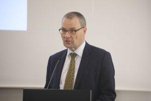 Professor Dr. Hans-Joachim Salize vom Forschungskonsortium der MHG-Studie zum Sexuellen Missbrauch erläuterte die Studie.