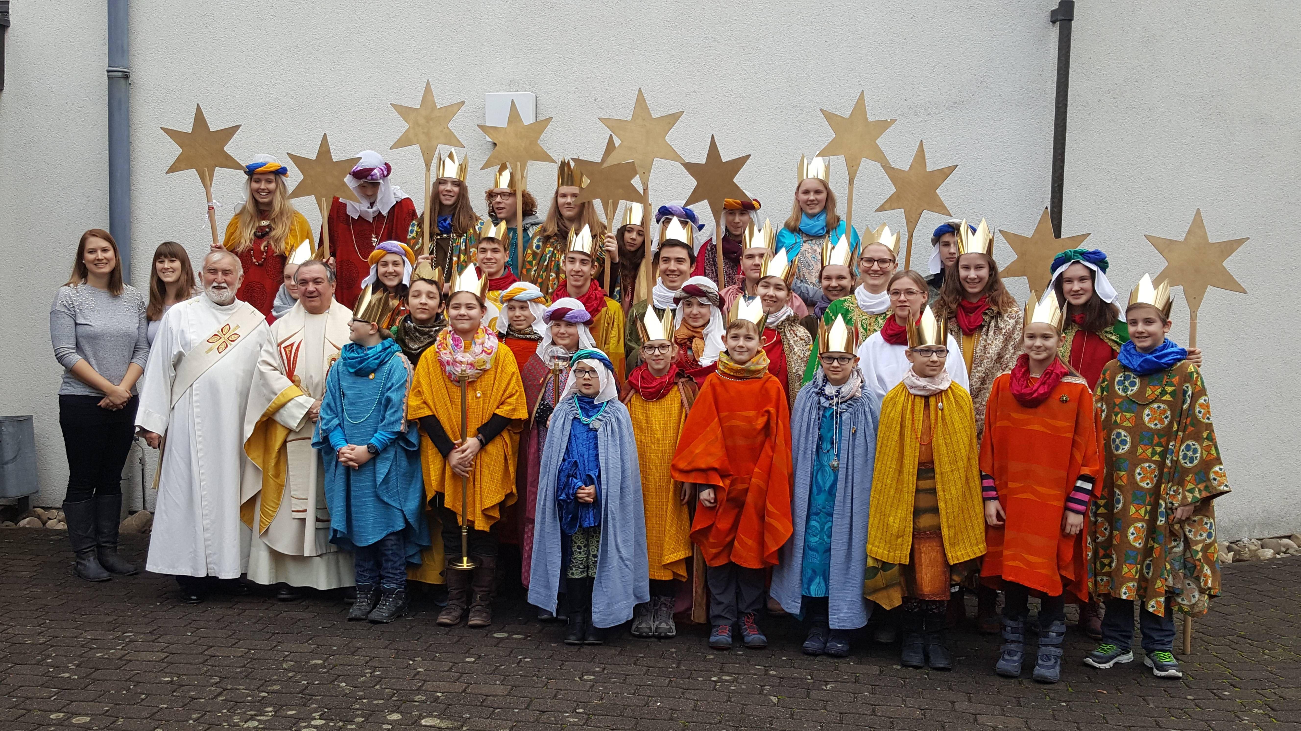 Auch in der Pfarrei St. Lioba in Würzburg (Dekanat Würzburg-Stadt) machten sich zahlreiche Kinder und Jugendliche auf den Weg.
