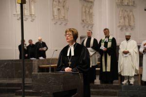 Regionalbischöfin Gisela Bornowski erinnerte daran, dass in der Taufe allen Christen die Liebe Gottes zugesagt werde.