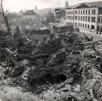Am 16. März 1945 zerstörte eine schwere Sprengbombe das im Mai 1917 gegründete Fränkische Luitpoldmuseum in der Maxstraße 4 in Würzburg. Im Schutt waren auch die jüdischen Ritualgegenstände, die vor zwei Jahren per Zufall wieder ans Tageslicht gelangt sind.