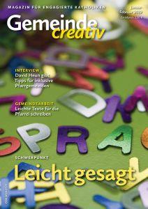 """Themen der Inklusion und Barrierefreiheit stehen im Mittelpunkt der neuesten Ausgabe der Zeitschrift """"Gemeinde creativ""""."""