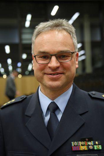 Polizeidirektor Dr. Sven Schultheiß, Leiter der Bundespolizeiinspektion Würzburg