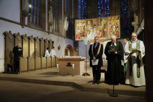 Auf Einladung der Gemeinschaft Sant'Egidio beteten Vertreter verschiedener Konfessionen im Rahmen der ökumenischen Gebetswoche für die Einheit der Christen gemeinsam in der Würzburger Marienkapelle.