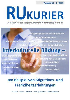 """Die aktuelle Ausgabe des RU-Kuriers hat """"Interkulturelle Bildung"""" zum Thema."""