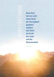 """Das Heft """"Gebetsstunde"""" von Domvikar Paul Weismantel gibt Anregungen zur Gestaltung von Gebetsstunden bei der """"Ewigen Anbetung""""."""