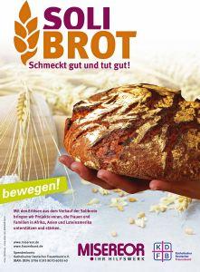 """In der Fastenzeit findet bundesweit die Solibrot-Aktion unter dem Motto """"Solibrot schmeckt gut und tut gut"""" des Katholischen Deutschen Frauenbunds (KDFB) und Misereor statt."""