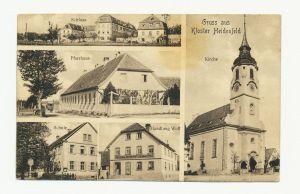 Postkarte mit Motiven aus Kloster Heidenfeld