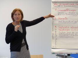 Prävention erfordert zunächst einmal gründliche Information. Die gibt es von Ingrid Schreiner.