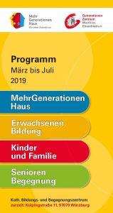 Das neue Programmheft des Generationen-Zentrums Matthias Ehrenfried liegt aus.