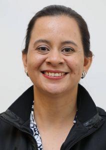 """Daysi Rodríguez berichtet im Rahmen der Misereor-Fastenaktion im Bistum Würzburg über das Projekt """"Mein Lebensplan"""", für das sie in El Salvador arbeitet."""