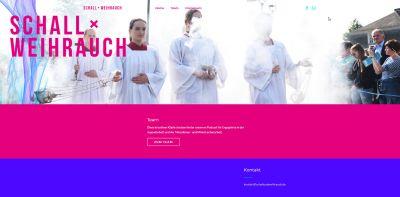 """Der Podcast """"Schall und Weihrauch"""" ist unter anderem über die Homepage www.schallundweihrauch.de abrufbar."""