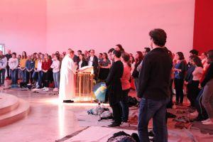 Rund 120 Jugendliche und junge Erwachsene feierten den diözesanen Weltjugendtag mit.