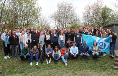 Die Teilnehmer der Frühjahrsdiözesankonferenz der Katholischen jungen Gemeinde (KjG).