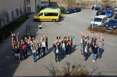 """32 ehemalige """"weltwärts""""-Freiwillige aus den (Erz-)Bistümern Bamberg und Würzburg trafen sich zu einem gemeinsamen Wochenende im Kilianeum-Haus der Jugend in Würzburg."""