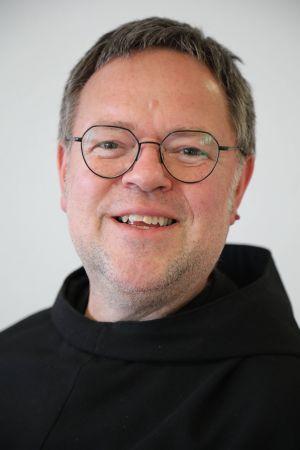 Bruder Tobias Matheis von den Franziskaner-Minoriten.