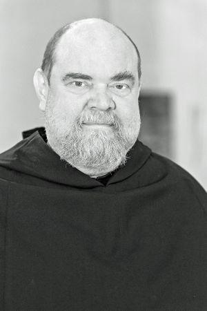 Augustinerpater Lukas Schmidkunz.