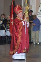 Bischof Dr. Paul-Werner Scheele bei seinem Abschied am 13. Juli 2003.