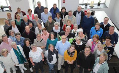 Zur Vollversammlung traf sich die Berufsgruppe der Religionslehrerinnen und -lehrer im Kirchendienst im Würzburger Burkardushaus.