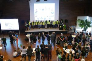 Für die Region Aschaffenburg-Alzenau fand der Start der 72-Stunden-Aktion im Aschaffenburger Martinushaus statt.