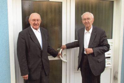 Die Pfarrer i. R. Hermann (links) und Ludwig Glückler.