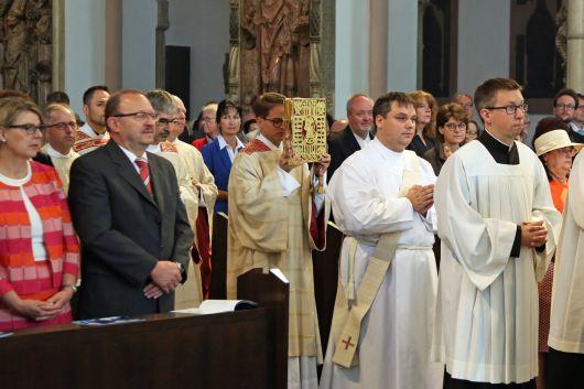 Priesterweihe von Diakon Frank Elsesser am Freitag, 8. Juni, im Kiliansdom.