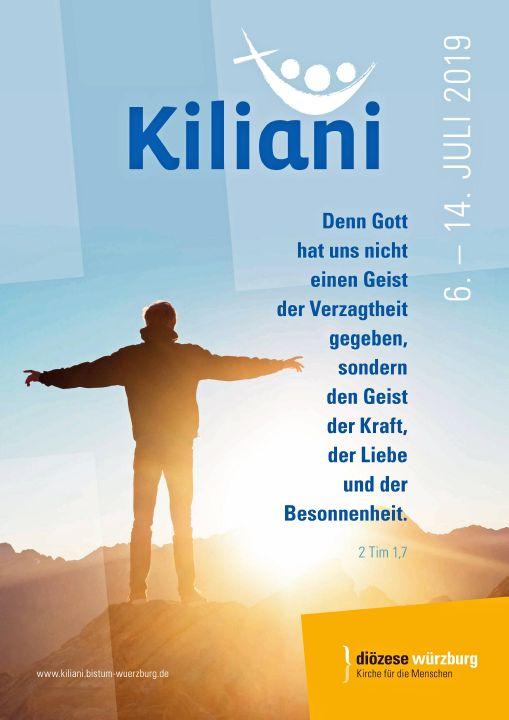 Zur Kiliani-Wallfahrtswoche pilgern jährlich rund 17.000 Menschen nach Würzburg.
