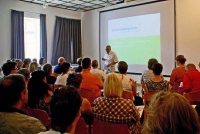 Über 50 Experten begrüßte geschäftsführender Direktor Andreas Halbig im Caritas-Don Bosco-Bildungszentrum zur Fachtagung ICF.