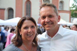 Dagmar und Andreas Baumeister aus Waldbrunn.