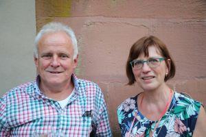 Walter und Gudrun Zahradka aus Steinfeld.