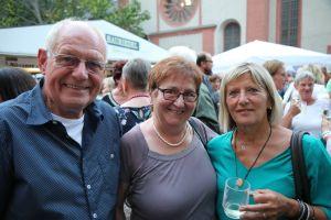 Von links: Paul und Marianne Erhard sowie Imelda Draxler.