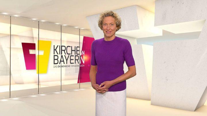 """Bernadette Schrama moderiert """"Kirche in Bayern"""" am Sonntag, 11. August."""