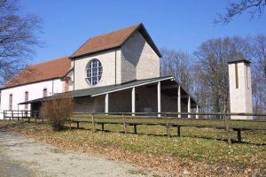 In der Wallfahrtskirche Maria Ehrenberg in der Rhön wird das Hochfest Mariä Himmelfahrt besonders feierlich begangen.