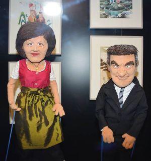 Seit kurzem ein Paar und schon museumsreif: Landtagspräsidentin Ilse Aigner und Ministerpräsident Markus Söder.
