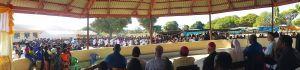 Nach der Einweihung und dem festlichen Gottesdienst drückte die Bevölkerung von Litumbandyosi und den Outstations ihre Freude mit Gesängen und Tänzen aus.