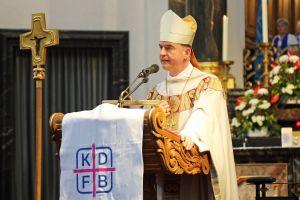 Um Offenheit für neue Lösungen warb Bischof Dr. Franz Jung in seiner Predigt.