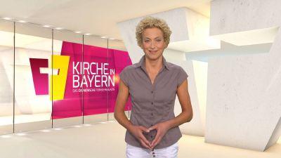 "Bernadette Schrama moderiert das ökumenische Fernsehmagazin ""Kirche in Bayern"" am Sonntag, 22. September."