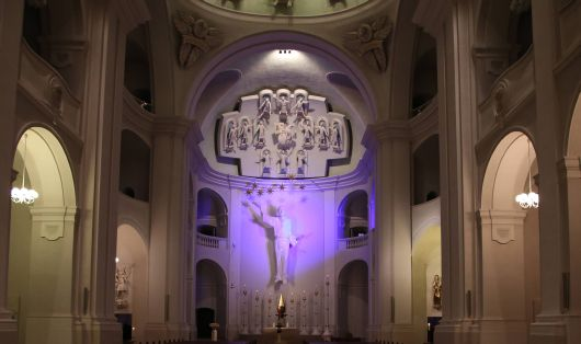 Die Seminarkirche Sankt Michael.