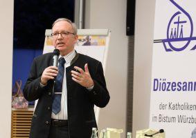 """""""Im Blick auf die Pastoral der Zukunft spielen Verbände eine wichtige Funktion im Netzwerk Kirche""""; sagte Generalvikar Thomas Keßler."""