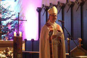 """""""Heute werdet Ihr ausgesandt, damit das Morgen Gottes ausbricht"""", erklärte Bischof Dr. Franz Jung den Sternsingern bei der diözesanen Aussendungsfeier in der mMarienkapelle."""