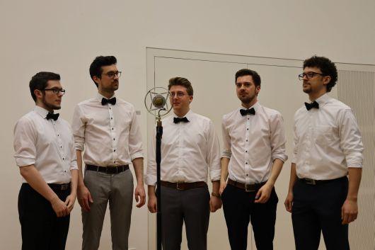 """Das Ensemble """"Quints"""" sorgte für den musikalischen Rahmen und bekam dafür viel Applaus."""