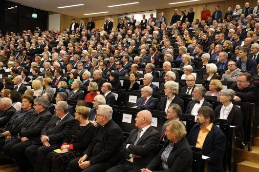 Beim Neujahrsempfang des Bistums Würzburg 2020 war Professor Dr. Dieter Thomä Festredner.