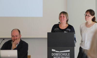 Das Sprecherteam (von links): Gesamtsprecher Sebastian Volk, Stellvertreterin Katja Roth und Gesamtsprecherin Katrin Fuchs.