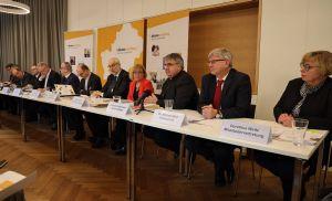 Erstmals gab das Bistum Würzburg im Würzburger Medienhaus eine Pressekonferenz zum Jahresauftakt.