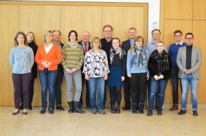 Die Vorstandschaft und Chorleiter der Pueri Cantores trafen sich zur Generalversammlung.