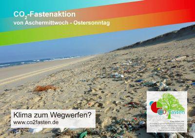 """Unter dem Motto """"Klima zum Wegwerfen?"""" steht die CO2-Fastenaktion 2020 der Kirchlichen Jugendarbeit im Bistum Würzburg."""