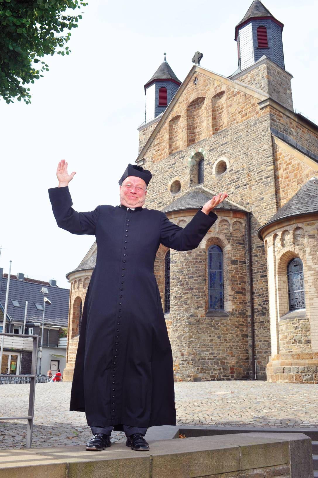Die Kirche hat für Willibert Pauels viel mit Humor zu tun. Humor und Religion seien Freiheit.